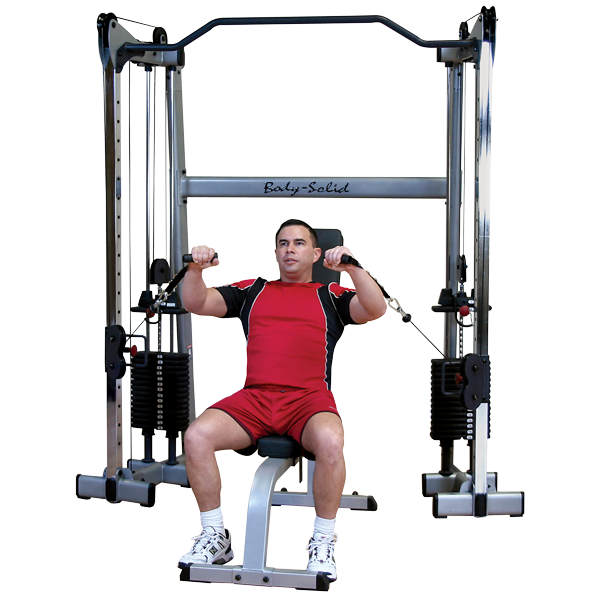 Body-Solid GDCC200 Functional Training Center - Functional Trainers - Body-Solid eepdx
