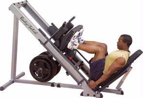Body Solid GLPH1100 Leg Press/Hack Squat - Strength Machines - Body-Solid eepdx