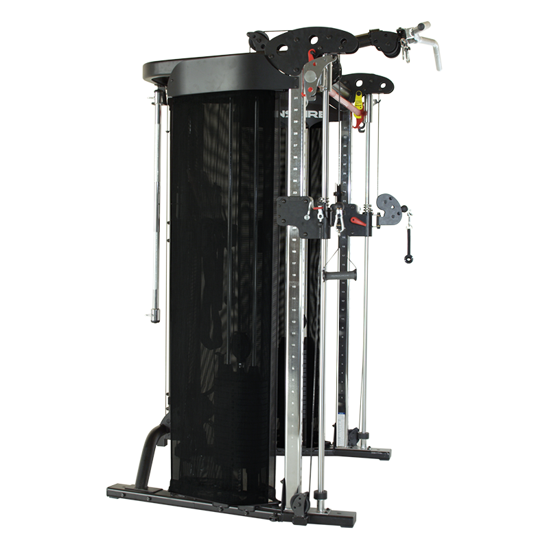 Inspire FT2 Functional Trainer (Package Includes Bench, Leg and Arm Attachment)