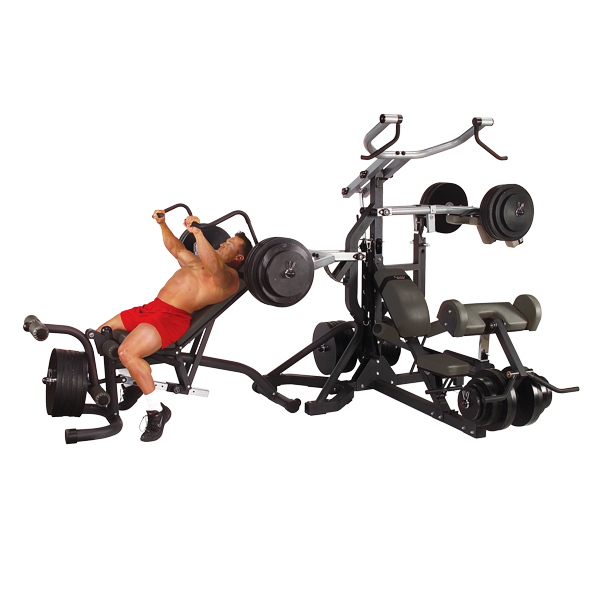 Body-Solid SBL460P4 Freeweight Leverage Gym