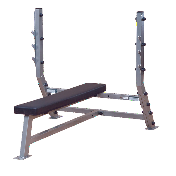 Body-Solid SFB349G Flat Olympic Bench - Bench - Body-Solid eepdx