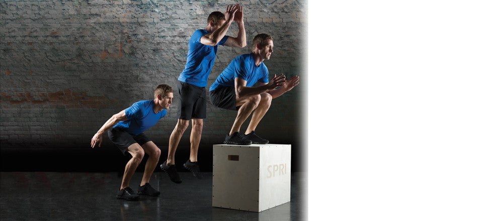 "Plyo Box Wood Adjustable 20"", 24"", 30"" - Fitness Accessories - SPRI eepdx"