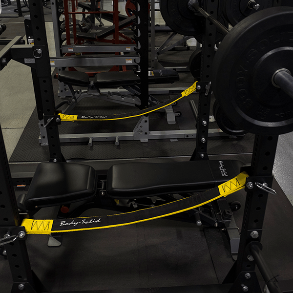 SPRSS Power Rack Stap Safeties - SPR Rack Attachment - Body-Solid eepdx