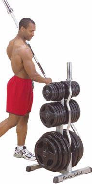 Body-Solid Olympic Weight Tree/Bar Rack - Rack - Body-Solid eepdx