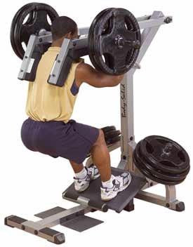 Body-Solid Squat/Calf Raise - Strength Machines - Body-Solid eepdx