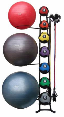 Club Accessory Rack - Fitness Accessories - Aeromat eepdx
