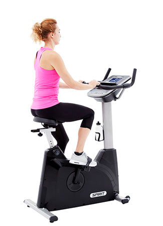 Spirit XBU55 Upright Bike - Upright Bike - Spirit Fitness eepdx