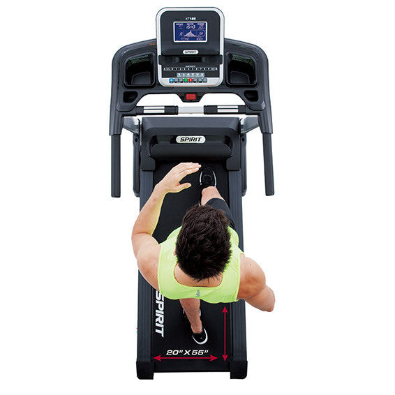 Spirit Fitness XT185 Folding Treadmill ON SALE! (5 YEAR WARRANTY ON ALL PARTS!) - Treadmill - Spirit Fitness eepdx