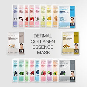 DERMAL COLLAGEN ESSENCE MASK 41 TYPES - DERMAL COSMETICS USA