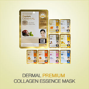 DERMAL PREMIUM COLLAGEN ESSENCE MASK - DERMAL COSMETICS USA
