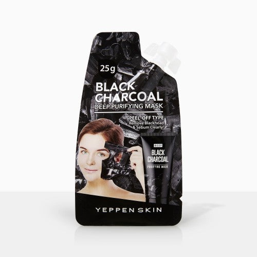 YEPPEN SKIN- BLACK CHARCOAL DEEP PURIFYING MASK - Dermal Cosmetics USA