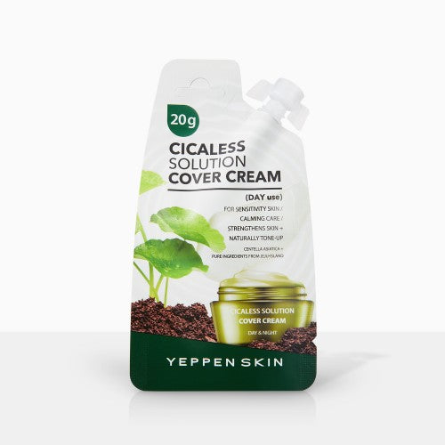 YEPPEN SKIN- CICALESS SOLUTION COVER CREAM (DAY) - Dermal Cosmetics USA