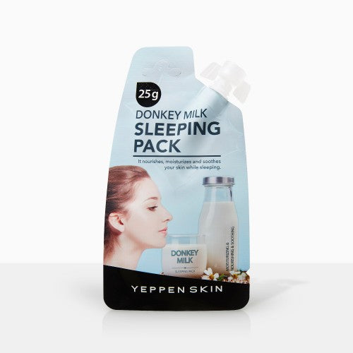 YEPPEN SKIN- DONKEY MILK SLEEPING PACK - Dermal Cosmetics USA