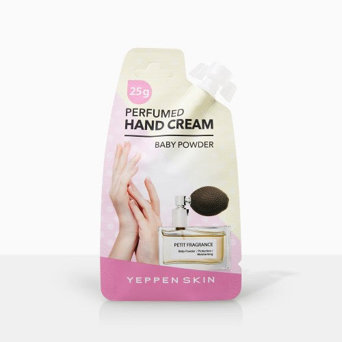 YEPPEN SKIN- PERFUMED HAND CREAM - BABY POWDER - Dermal Cosmetics USA