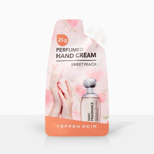 YEPPEN SKIN- PERFUMED HAND CREAM - SWEET PEACH - Dermal Cosmetics USA