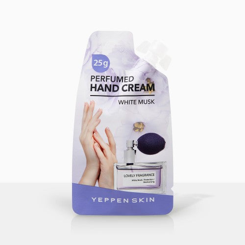 YEPPEN SKIN- PERFUMED HAND CREAM - WHITE MUSK - Dermal Cosmetics USA