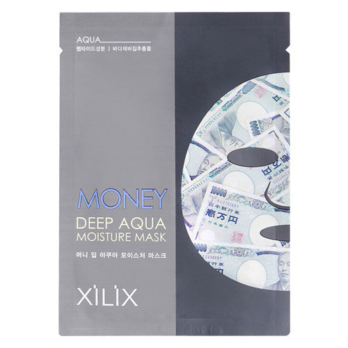 MONEY DEEP AQUA MOISTURE MASK - JAPANESE YEN - CASE (10CT) - Dermal Cosmetics USA