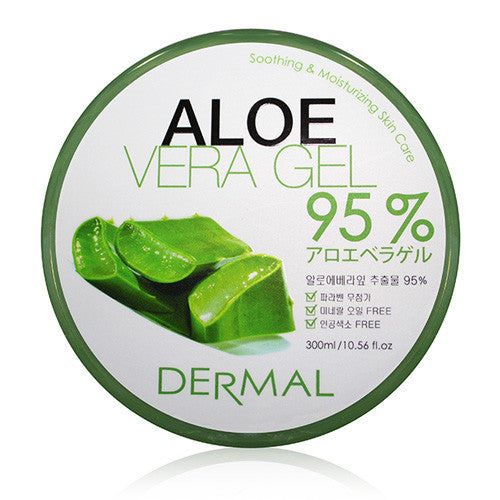 ALOE VERA GEL 95% - JAR - Dermal Cosmetics USA