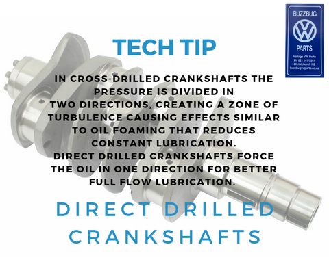 Direct Drilled Crankshafts