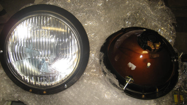 Ghia RHD Hella headlight set NOS