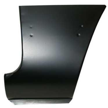 Lower Section FRONT Fender - Ghia
