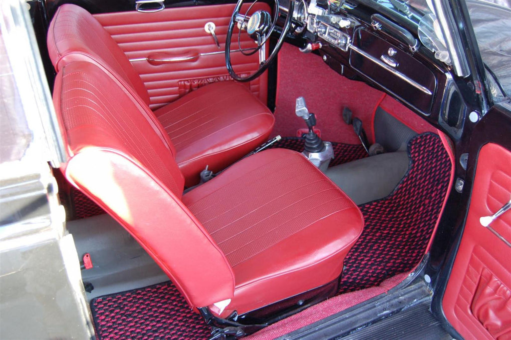 seat cover set 58-67 beetle front and rear