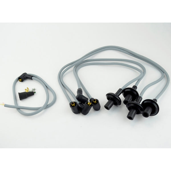 8mm megavolt premium plug lead set with 90° end caps for better fit.