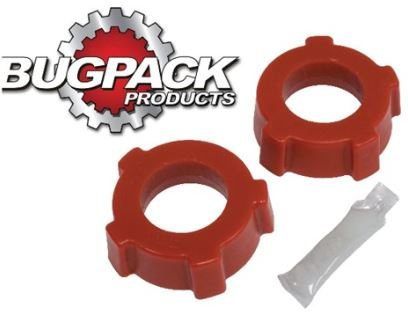 "Bushing Set Spring Plate, 1 3/4"""" knobby OUTER, 1960-68 Bug/Ghia"