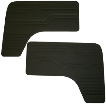 Door panels Kombi 68-79 ,Black L&R