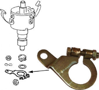 Distributor Retainer clamp