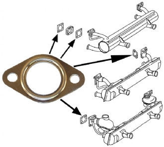 Gasket for exhaust