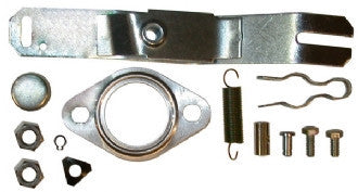 Mounting kit for heat exchanger, left or right