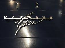 Karmann Ghia emblem large