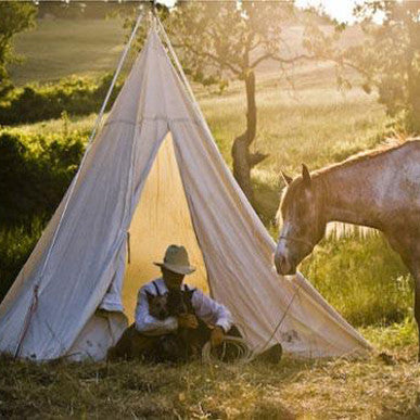 Cowboy Range Teepee Tents & Custom Canvas Tents u0026 Camping Gear u2013 Kenu0027s Custom Tents u0026 Canvas