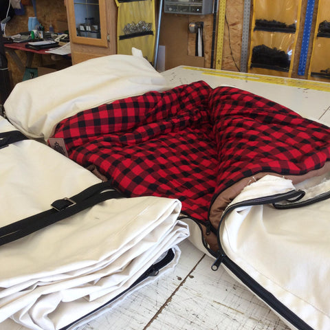 Zippered Sleeping Bag/Bedroll Cover