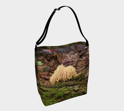 Lake Superior Agawa Bay - Mushroom Hunting Tote Bag