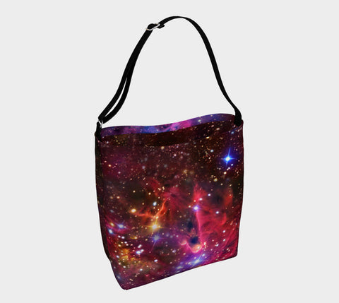 Fox Fur Nebula Tote Bag