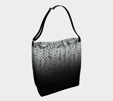 Black and White - Fern Tote Bag
