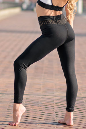Sarah G - Jet Set Legging - Black