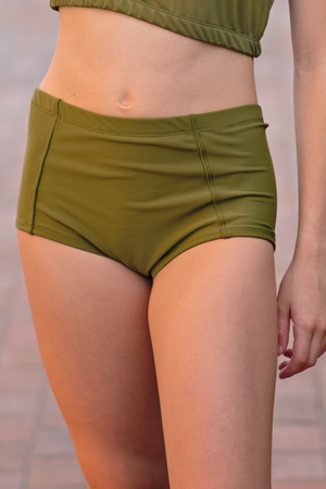 Boy Brief - Olive