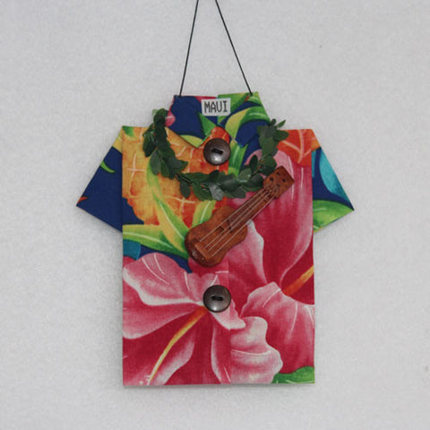 Colorful floral pattern Aloha