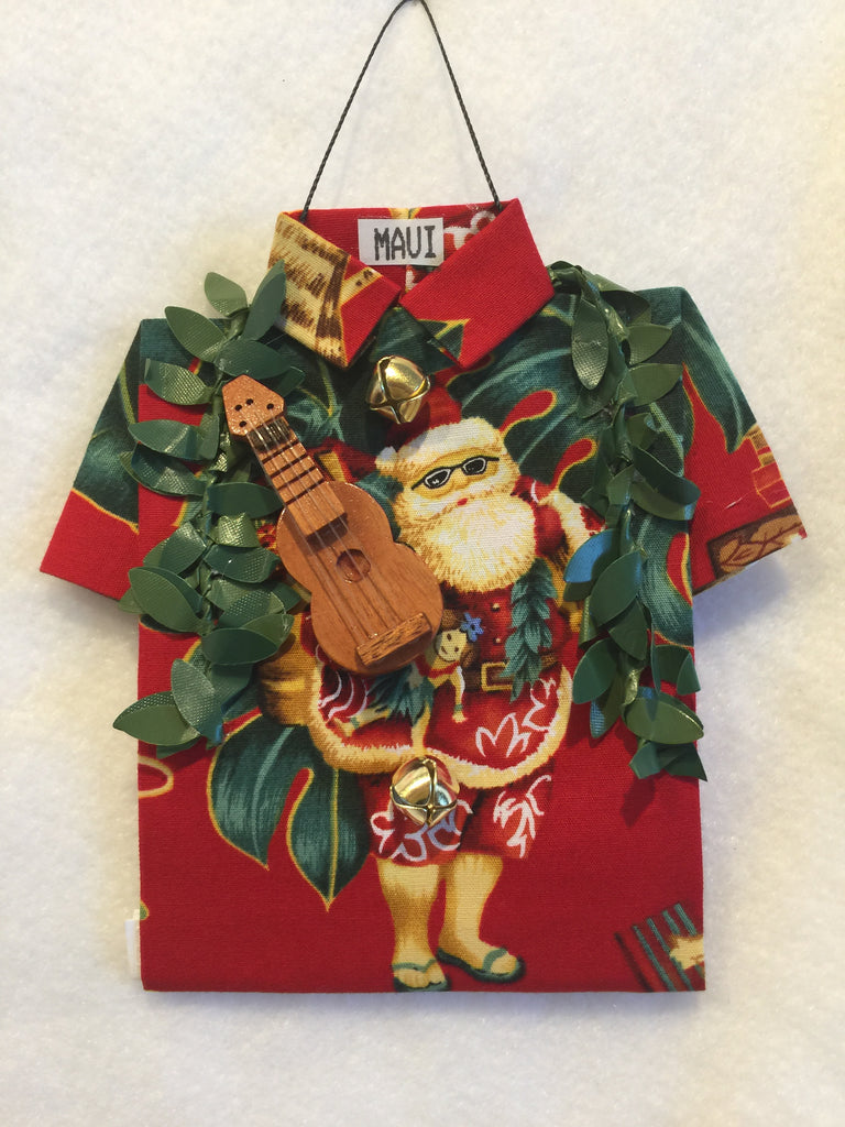 Hawaiian Santa - Cool Santa