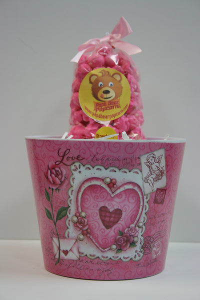 Mothers Day Hearts & Roses Bucket