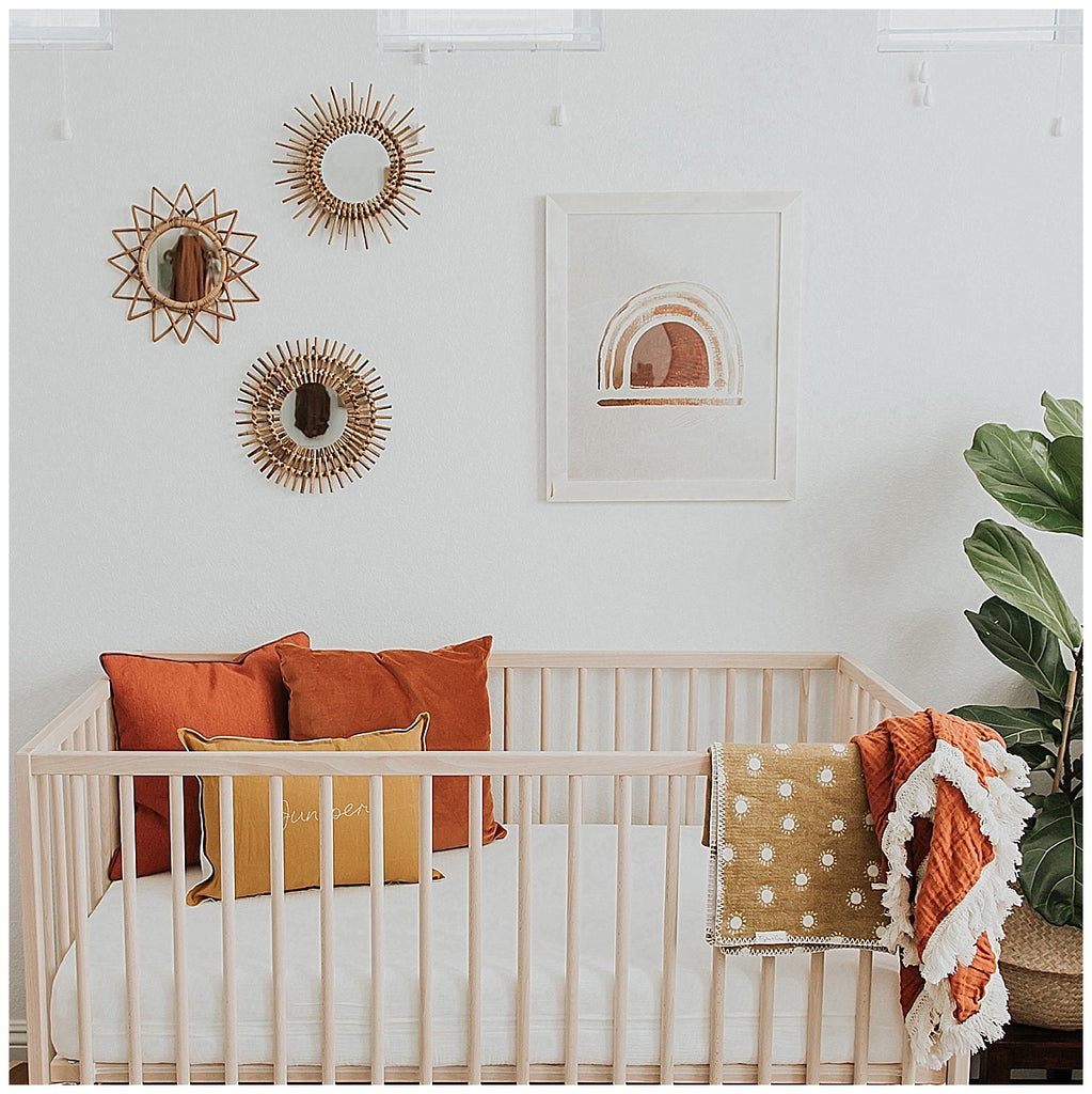 Junipers' Modern Boho Nursery