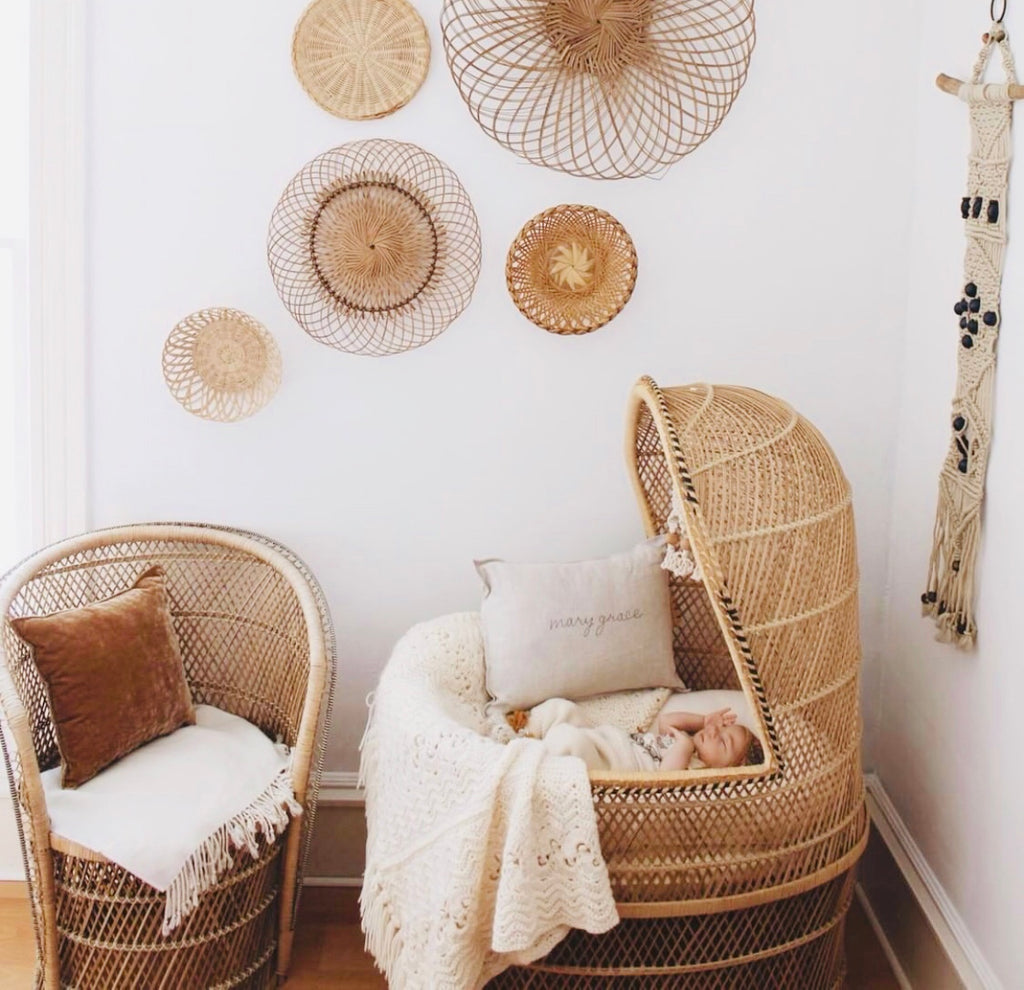 Marys' Vintage Boho Girls Nursery