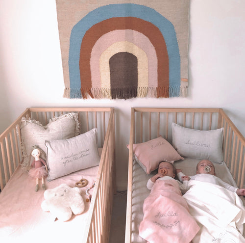 Twin Nursery with Little Willow style