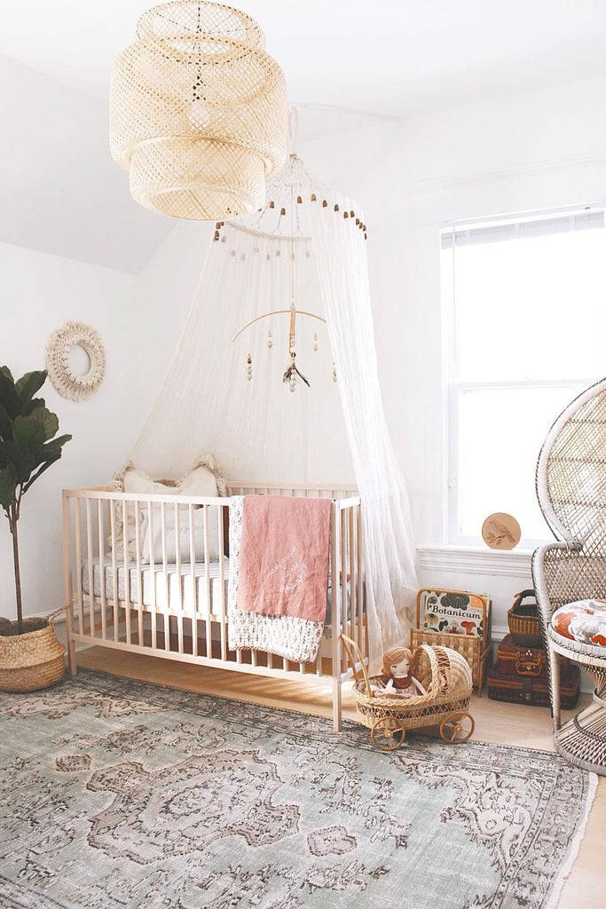 boho girls nursery
