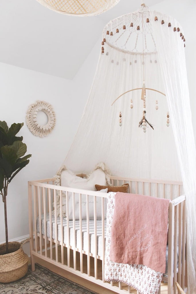 boho girls nursery, little willow vintage , girls nursery