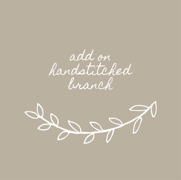 Add on, Handstitched Branch
