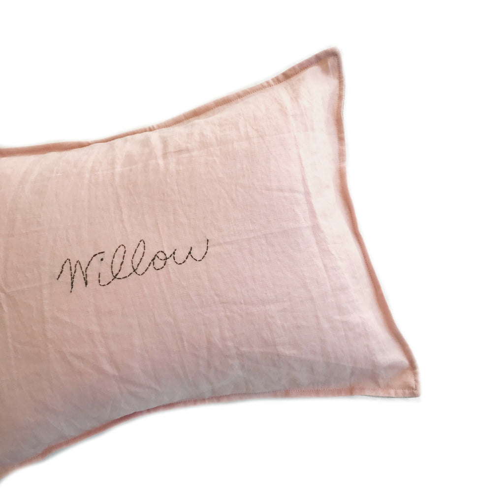 Custom Hand Stitched cushion  -DESERT BLUSH